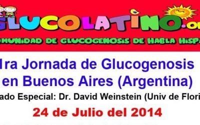 PRIMERA JORNADA DE GLUCOGENOSIS EN ARGENTINA