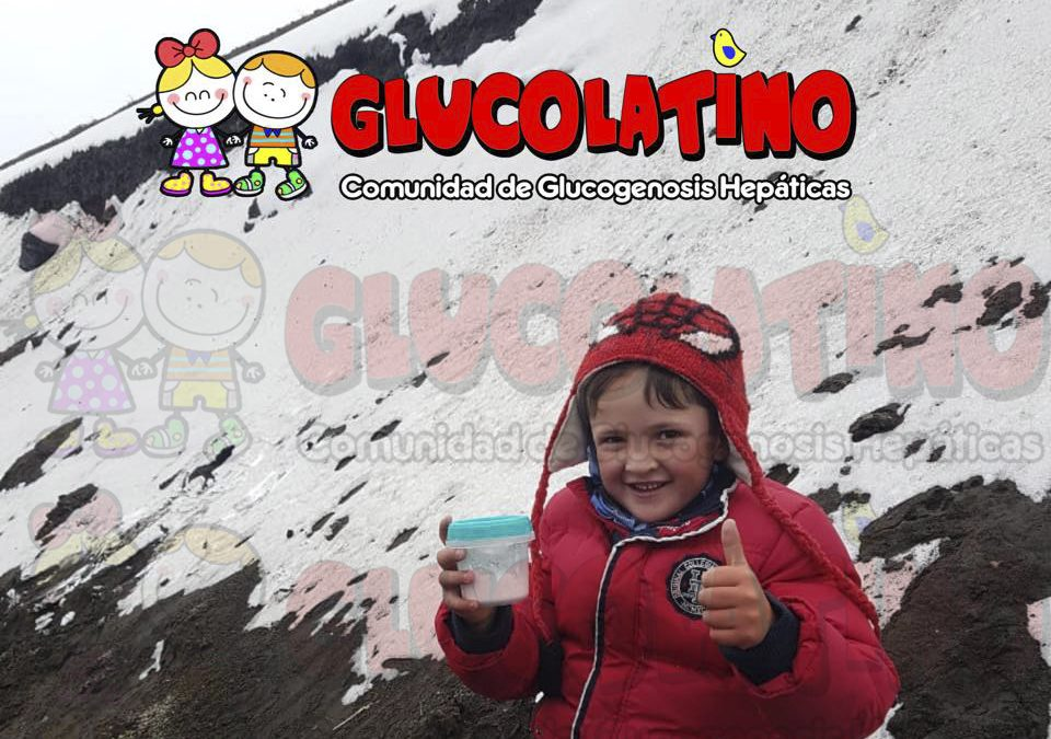 Paciente con Glucogenosis sube al segundo volcán más alto de Ecuador: COTOPAXI a 4800 mts de altura
