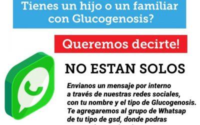 Nueva campaña de ayuda a pacientes con Glucogenosis Hepáticas: NO ESTÁN SOLOS
