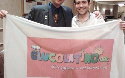 Nuestra presentación con el Dr. David Weinstein en el Congreso Anual Americano de Glucogenosis