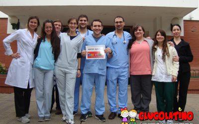 Jornada DIfusión para médicos en el Hospital Alberdi de Rosario, Argentina