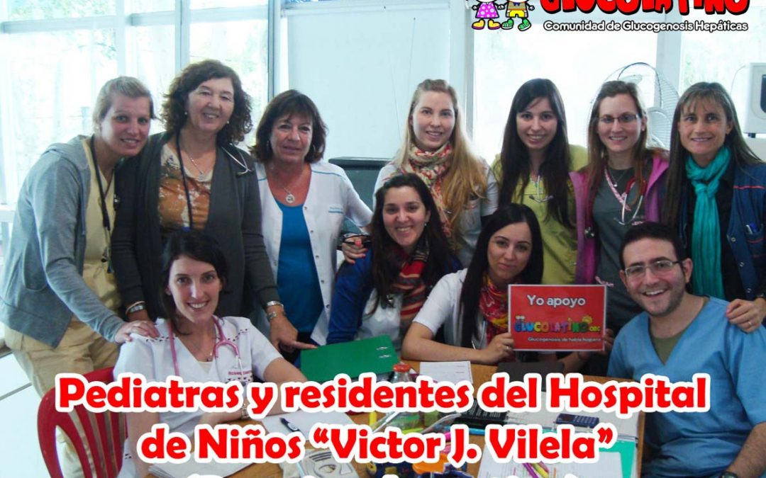 Charla difusión Glucogenosis para médicos pediatras del Hospital Victor J. Vilela (Rosario, Argentina)