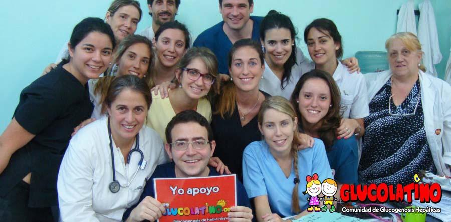Charla Difusión Glucogenosis – Hospital Roque Saenz Peña (Rosario – Argentina)