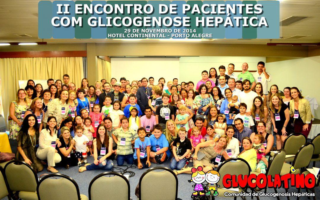 II Encuentro de Pacientes y Familias con Glucogenosis en Brasil