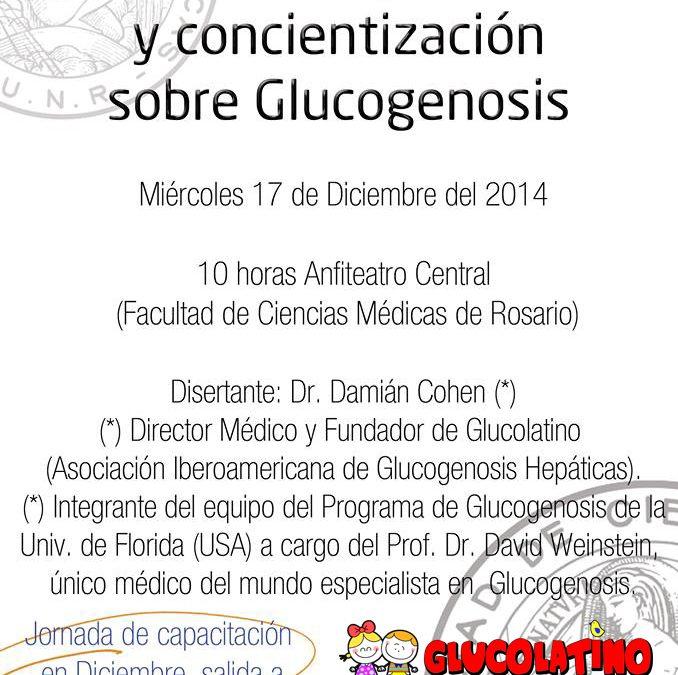JORNADA DE CAPACITACIÓN Y CONCIENTIZACIÓN DE GLUCOGENOSIS