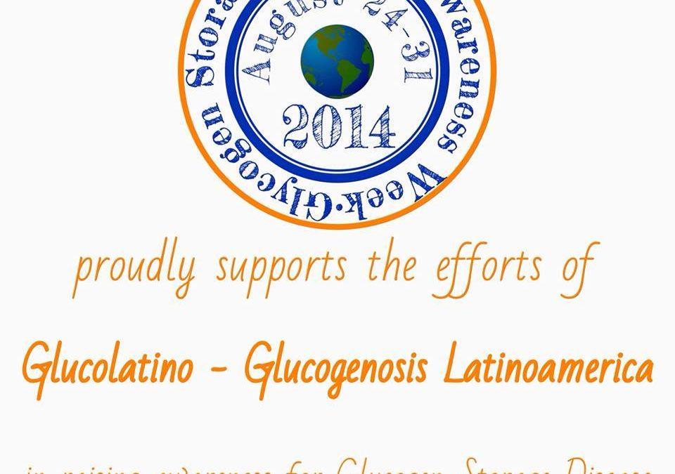 Reconocimiento a Glucolatino de la Comunidad Glycogen Storage Disease USA