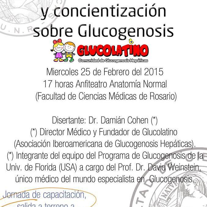 2da JORNADA DE CAPACITACIÓN DE GLUCOGENOSIS (UNR – ROSARIO ARGENTINA)