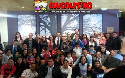 Primeras imágenes del V Encuentro de Glucogenosis Hepática en Bogotá (Colombia)