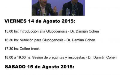 V ENCUENTRO DE GLUCOGENOSIS HEPÁTICAS, AGOSTO 2015, BOGOTA COLOMBIA