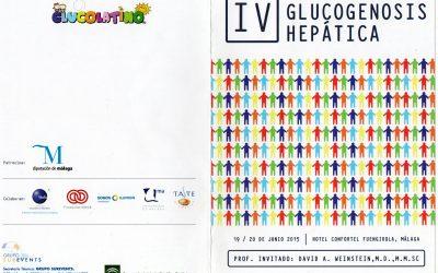 Programa del IV CONGRESO IBEROAMERICANO DE GLUCOGENOSIS HEPATICA-19 y 20 de Junio de 2015 (Fuengirola, España)