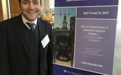 Glucolatino presente en el Congreso Internacional de Hipoglicemia en el Children's Hospital of Philadelphia (USA).