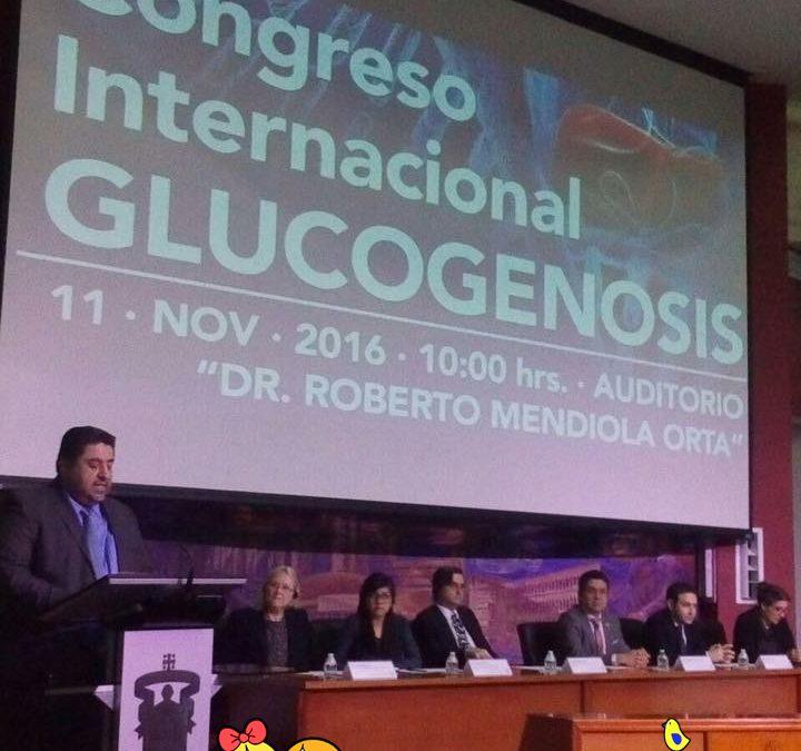 CONGRESO INTERNACIONAL DE GLUCOGENOSIS – GUADALAJARA (MÉXICO)