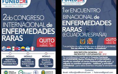 2do CONGRESO INTERNACIONAL DE ENFERMEDADES RARAS – ECUADOR