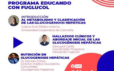 PRIMER WEBINAR GLUCOGENOSIS COLOMBIA Y GLUCOLATINO